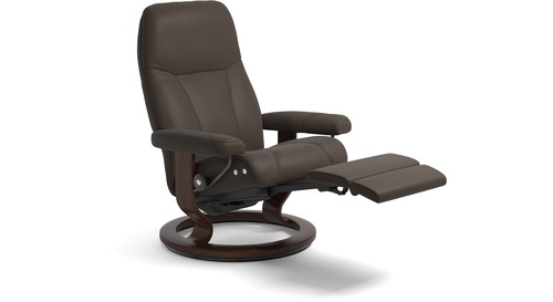 Stressless® Consul Leather Recliner - LegComfort