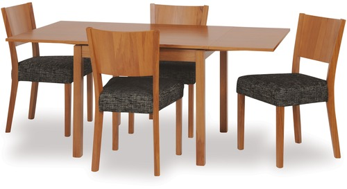 Dinex Extension Dining Table & Kia Chairs