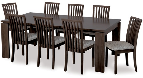 Dining Room Furniture Suites Tables and Chairs Danske  : 248Elan209pce20dining20ebony from www.lynfords.co.nz size 500 x 273 jpeg 36kB